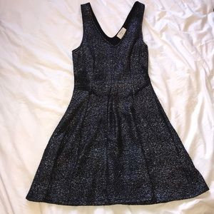 Everly Black Sparkle Dress